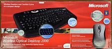 Microsoft Wireless Optical Desktop 2000 Hebrew Keyboard + Mouse
