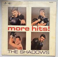 The Shadows More Hits! Mono -  Black/Blue Columbia Label UK LP