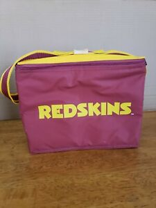 WASHINTON REDSKINGS NFL  PORTABLE BEVERAGE COOLER NEW WITHOUT TAGS