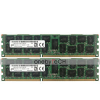 16G 2x8GB 2RX4 PC3-12800R DDR3-1600 240P Registered RDIMM Fr Dell PowerEdge R420