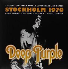 Deep Purple Stockholm 1970 LP Vinyl 2014 33rpm Triple Disc