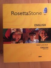 Rosetta Stone American English - Levels 1,2,3, 4 & 5 Version 3