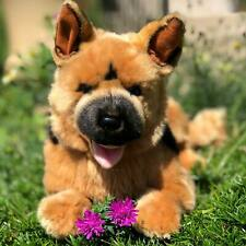 German Shepherd Plush Puppy Dog Linda- Collectable Stuffed Animals