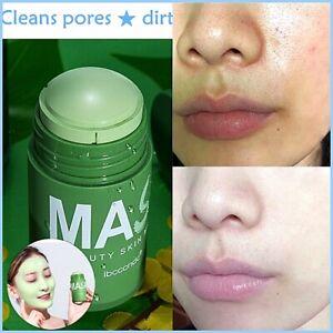 Green Tea Purifying Clay Stick Mask Oil Control Anti-Acne Fine Solid Blackhead U