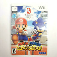 Mario & Sonic at the Olympic Games Beijing 2008 Nintendo Wii Video Game