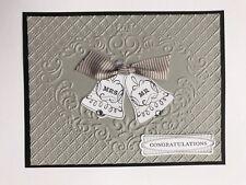 Seasonal bells wedding anniversary card kit of 10 made w/ Stampin' Up!