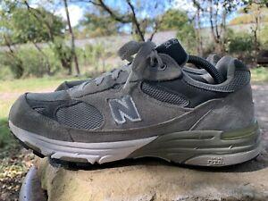 NEW BALANCE 993 Grey Sz 11 2A (Narrow) Women Running Shoes
