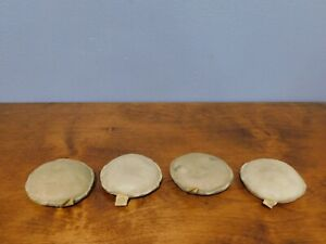 Lot of 4 Ross Martin 1 lb 4 oz Vintage Map Weight Drafting