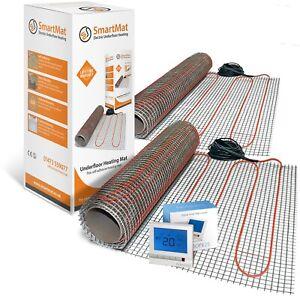 SmartMat 150w/m2 18.0m2 2700w Underfloor Heating Kit + Harmoni 25 Thermostat