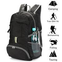 35L Women Men Kids Ultralight Packable Hiking Daypack Backpack Day Back Pack
