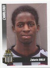 N°092 ZAKARIA DIALLO # FRANCE SPORTING CHARLEROI STICKER PANINI FOOTBALL 2011