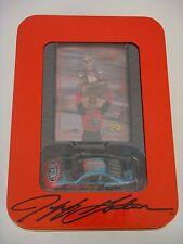 NASCAR  2001 Action - Jeff Gordon ~ DUPONT / 2001 WINSTON CUP CHAMPION with TIN