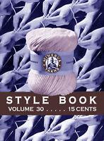 Minerva Knitting Book #30 c.1933 Depression Era Fashion Patterns for Women