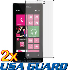 2x Clear LCD Screen Protector Guard Cover Film T-Mobile/MetroPCS Nokia Lumia 521