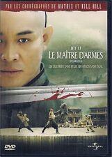 DVD ZONE 2--LE MAITRE D'ARMES--RONNY YU/JET LI/SHIDOU