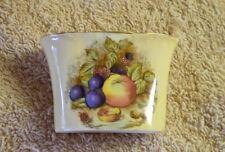 Aynsley Cigarette Dish, Orchard Gold,  Vintage