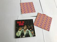 Various – This Is Soul Rhino 5051442012323 5144-20123-2 CD LP REPLICA W BKLT