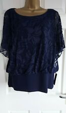 Roman originals 18 Ladies Top Size 18 Blue New With Tags