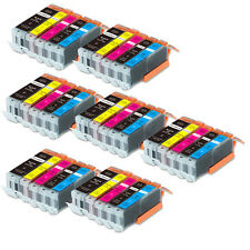 35 PK Ink Cartridges + smartchip for Canon 250 251 iX6820 MG6620 MX922 MG5620