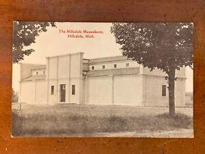 Michigan, MI, Hillsdale, Mausoleum, Better Burial, C.E. Singer, ca 1910