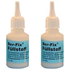 20,00 Euro pro 100g 2 x Ber-Fix Füllstoff - Inhalt: 60 Gramm - Farbe: Weiß