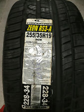 1 New 255 35 19 Cooper Zeon RS3-A Tire