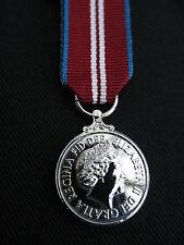 BRITISH ARMY,RAF,RN,RM, Queen's Diamond Jubilee 2012 Miniature Mess Dress Medal