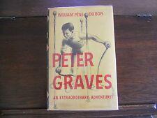 PETER GRAVES by William Pene Du Bois, SIGNED 1st ed/1st printing (1950, HCDJ)