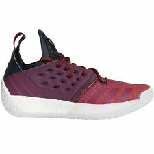 Mens Adidas Harden Vol. 2 Basketball Shoes Size 13 Maroon Red White Grey AH2124