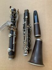 AS IS!! VINTAGE SELMER SIGNET 100 WOOD CLARINET WITH MOUTHPIECE