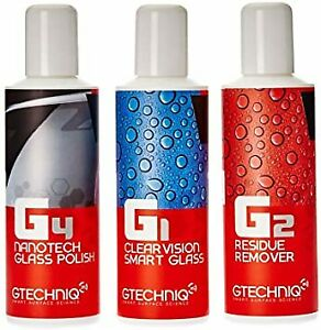 Gtechniq G1 G4 Clearvision Smart Glass - 100ml for Windscreen and Glass RainX