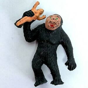 King Kong Rubber figure toy figurine Small Vintage