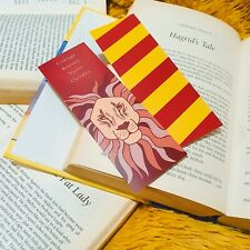 Gryffindor Bookmark / Harry Potter Bookmark