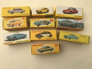 10 Dinky Atlas Models 24L 1408 547 530 111 482 549 162 542 1423 Opel Honda TR2