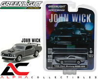 GREENLIGHT 44780-E 1:64 1969 FORD MUSTANG BOSS 429 JOHN WICK MOVIE (2014