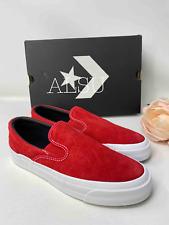 Sneakers Men's Converse One Star CC Slip Suede Enamel Red 163277C