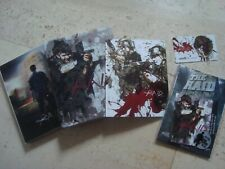 THE RAID : REDEMPTION lenticular Blu-Ray SteelBook SLIPCOVER book cards