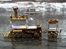 Swarovski Crystal Memories Toy Train - Figurine - Retired - NIB - Certificate