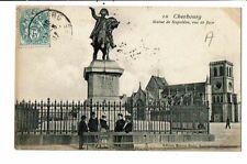 CPA-carte postale-FRANCE-Cherbourg- Statue de Napoléon en 1907 -VMO15990