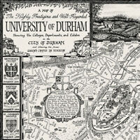 The University of Durham Map - Fine Art Prints by Manuscript Maps