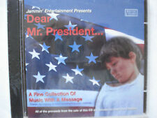 Dear Mr. President Music With A Message CD Supports Feed The Children Rare L33