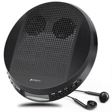 More details for walkman portable cd player with stereo speakers mp3/cd-r/cd-rw anti-skip+headset
