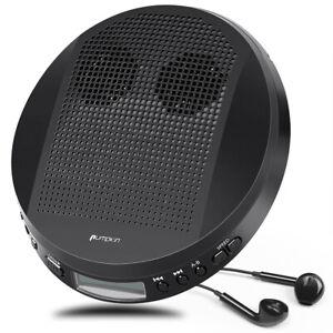 Walkman Portable CD Player with Stereo Speakers MP3/CD-R/CD-RW Anti-Skip+Headset