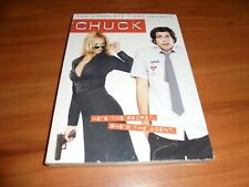 Chuck - The Complete First Season (DVD, 2008, 4-Disc) Used 1 1st One