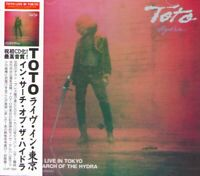 TOTO 2CD IN SEARCH OF THE HYDRA LIVE IN TOKYO POP ROCK BAND AOR EVSD-1032