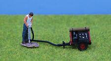 P & D Marsh OO Gauge Man w/Pneumatic Drill & Compressor Painted # PDZ38