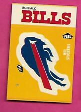 1984 BUFFALO BILLS  NFL FOOTBALL STICKERS SHEDULE NRMT-MT (INV# C4005)