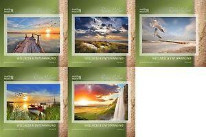"5 CDs ""Wellness & Entspannung"" (Vol. 1 - 5), Gemafreie Entspannungsmusik, Aktion"