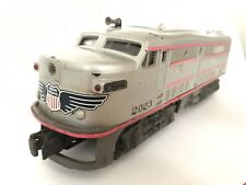 Lionel No. 2023 Union Pacific Alco Diesel Locomotive Dummy Unit Silver