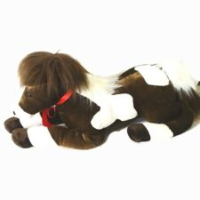 Aurora Horse Stuffed Animal Plush Toy 2016 Brown White Large 24 inch Boy Girl